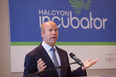 Rep. John Delaney (MD) speaks at the Pay for Success Grantee announcement at the Halcyon House in Washington, D.C. Corporation for National and Community Service Photo.