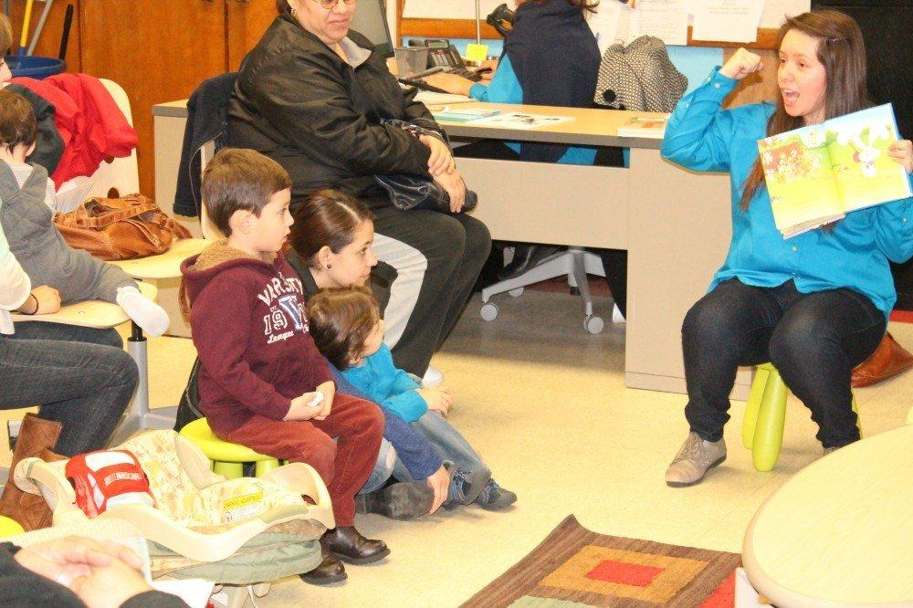 SIF Grantee: United Way for Southeast Michigan – Story Telling. Corporation for National and Community Service Photo.