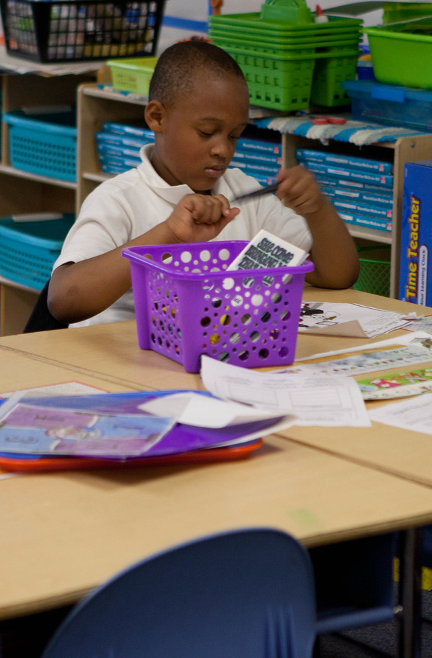 student at Miner Elementary school in Washington, D.C. Corporation for National and Community Service Photo.