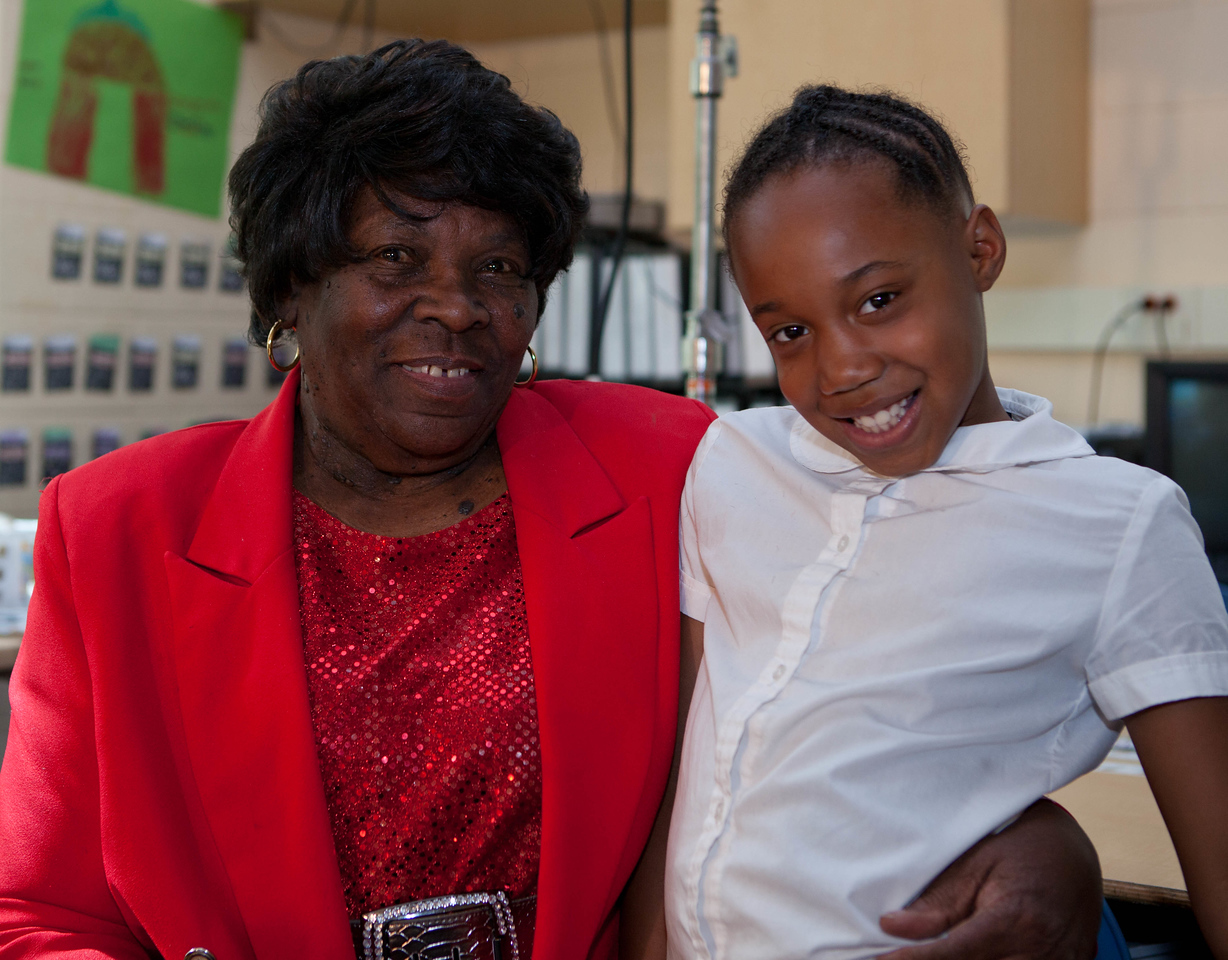 FGP, Minette Wheeler and student Erin Jackson. Corporation for National and Community Service Photo.