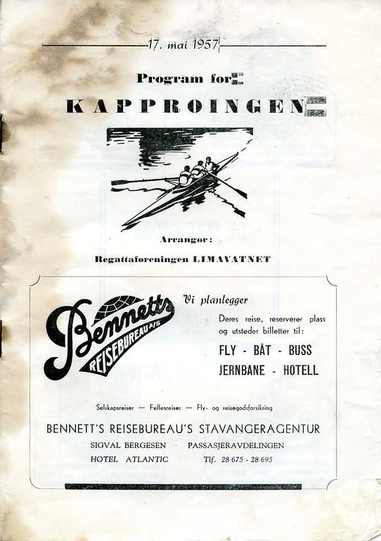1957 - Program for kapproingen 17 mai 1957_ (1)