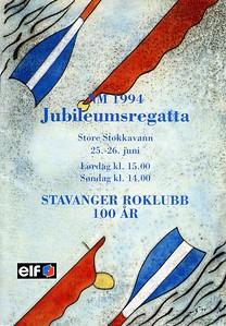 1994 - NM og jubileumsregatta SR 100 år