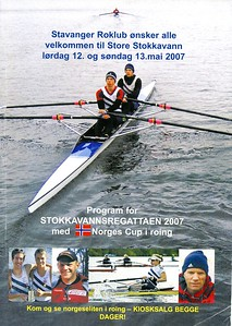 2007 - Stokkavannsregattaen med norges cup