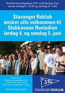 2011 - Stokkavannsregattaen med norges cup
