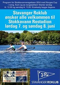 2014 - Stokkavannsregattaen med norges cup