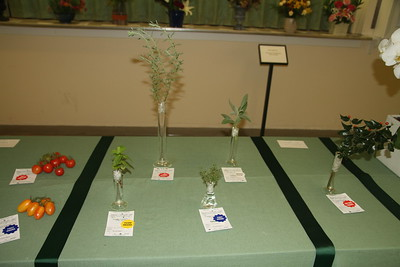 October, Horticulture