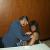 Martha Reeves receives her flu shot.