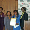 Angy Webb of ALA, Monica Conyers, Martha Reeves, Phyllis Meadows