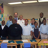 Cleveland City Councilman Tony Brancatelli and Principal Cedric McEachron with Open Airways for Schools graduates.