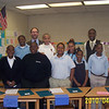Cleveland City Councilman Tony Brancatelli and Principal Cedric McEachron with Open Airways for Schools graduates.