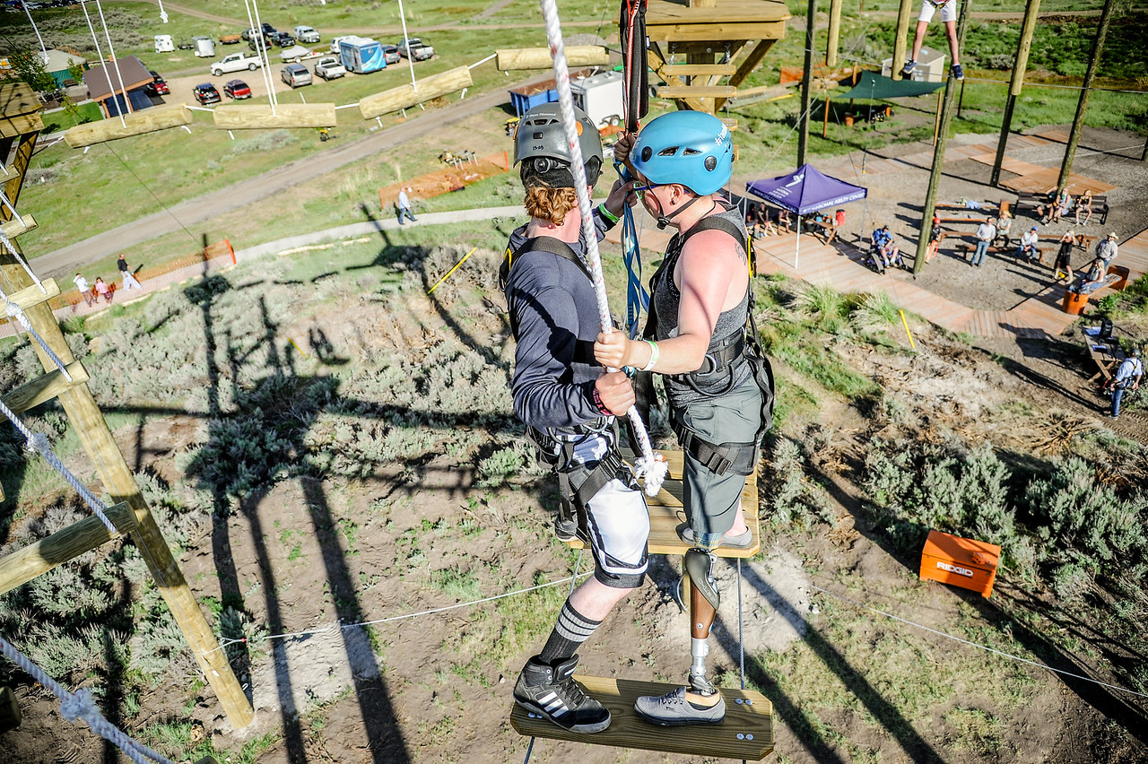 National Ability Center Ropes Course Opening and Barn Party 2017