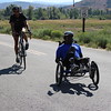 PARK CITY, UT - October 1, 2015:  National Ability Center Paratriathlon Camp (Photo by Michael Ray)