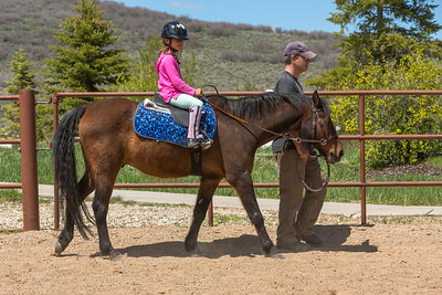 PARK CITY, UT - May 9, 2017:  National Ability Center Equestrian Program (Photo by Don Cook)