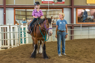 PARK CITY, UT - August 17, 2013:  National Ability Center Horse Show (Photo by Don Cook)