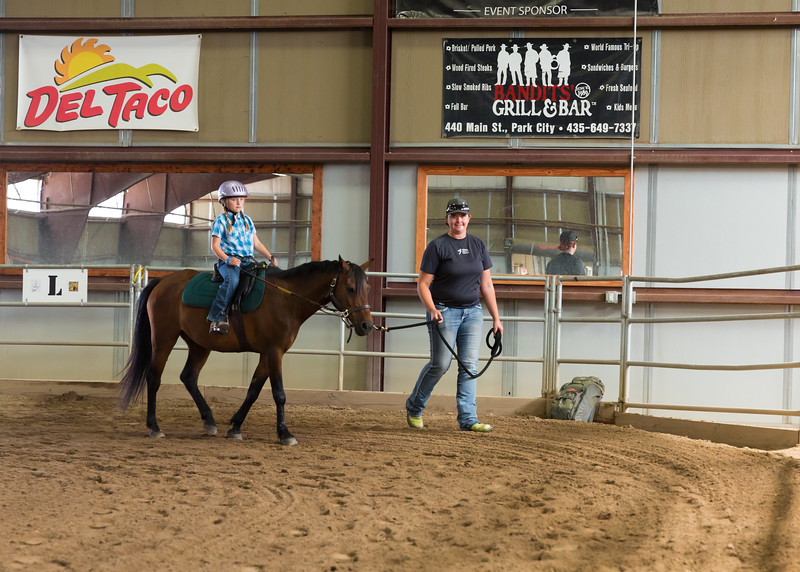 PARK CITY, UT - August 14, 2015:  National Ability Center Horse Show (Photo by Don Cook)