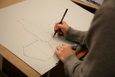 Drawing students