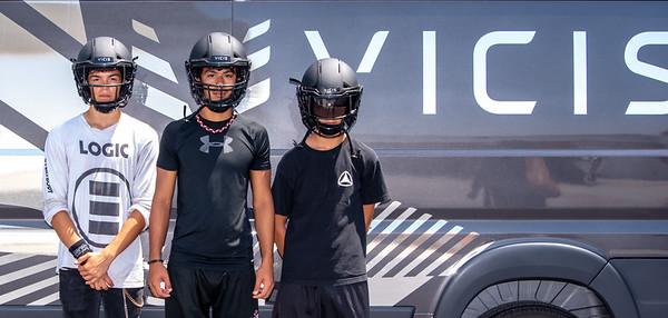 THS Football Helmets