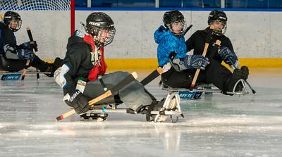 2018 One Step Camp Sled Hockey