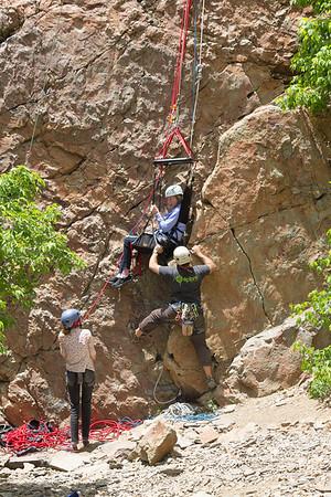2016 Outdoor Rock Climbing
