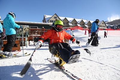 PARK CITY, UT - January 2, 2015:  National Ability Center Alpine Ski & Snowboarding Program (Photo by Claire Wiley)