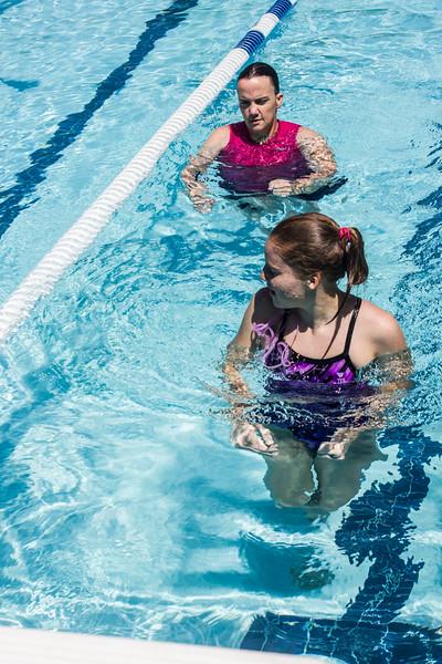 PARK CITY, UT - July 7, 2016:  National Ability Center Aquatics Program (Photo by Kassandra Lemons)