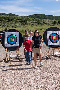 PARK CITY, UT - June 30, 2016:  National Ability Center Archery Program (Photo by Jon Scarlet)