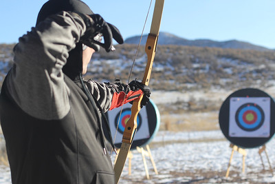 PARK CITY, UT - December 5, 2015:  National Ability Center Archery Program (Photo by Missy)