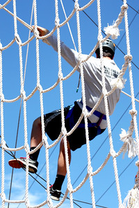 PARK CITY, UT - July 16, 2015:  National Ability Center Challenge Course (Photo by Maggie)