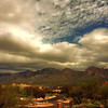 Photo #59 of 365 - Clouds over the Catalinas!
