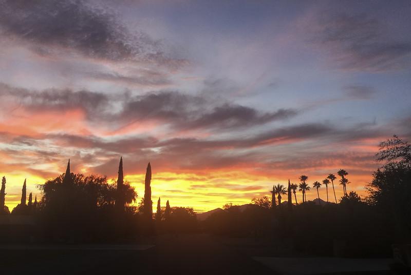 Photo #210 of 365 - Arizona Sunset