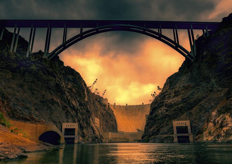 Photo #160 of 365 - Hoover Dam & By-Pass Bridge