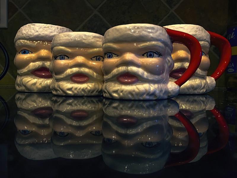 Photo #359 of 365 - Santa Mugs