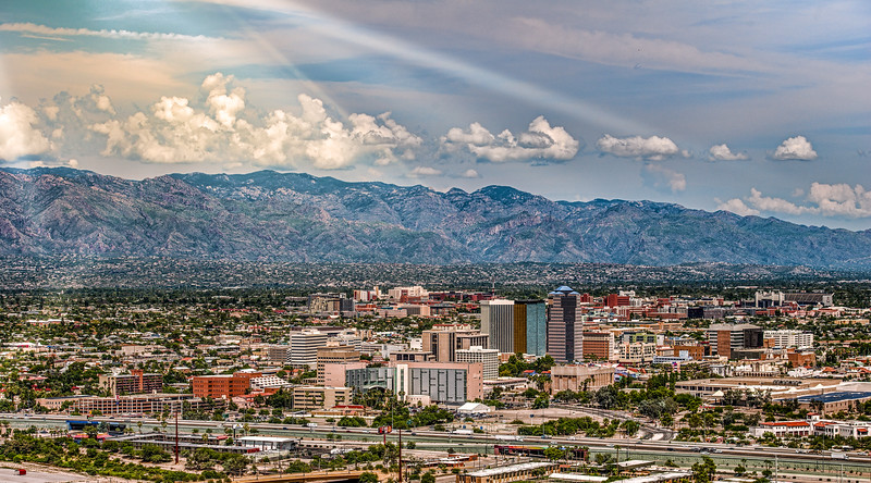 Photo #243 of 365 - Downtown Tucson after the rain!