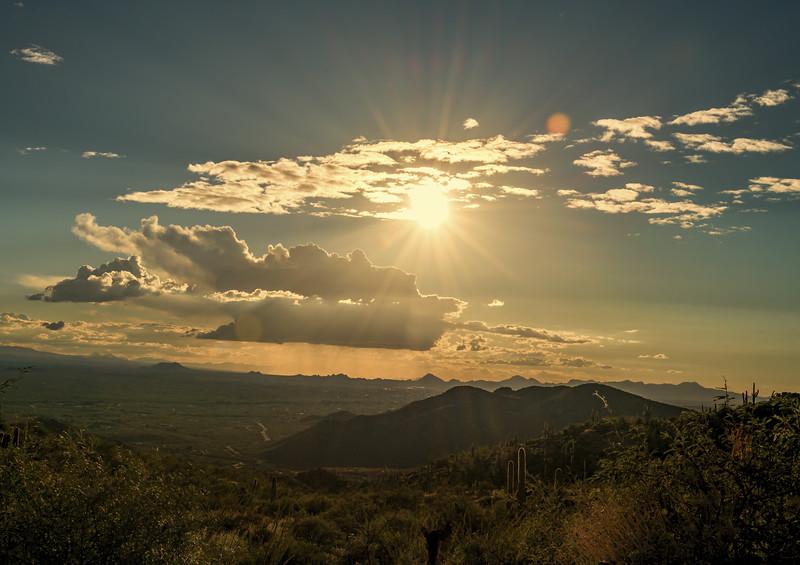 Photo #280 of 365 - Redington Pass overlooking Tucson
