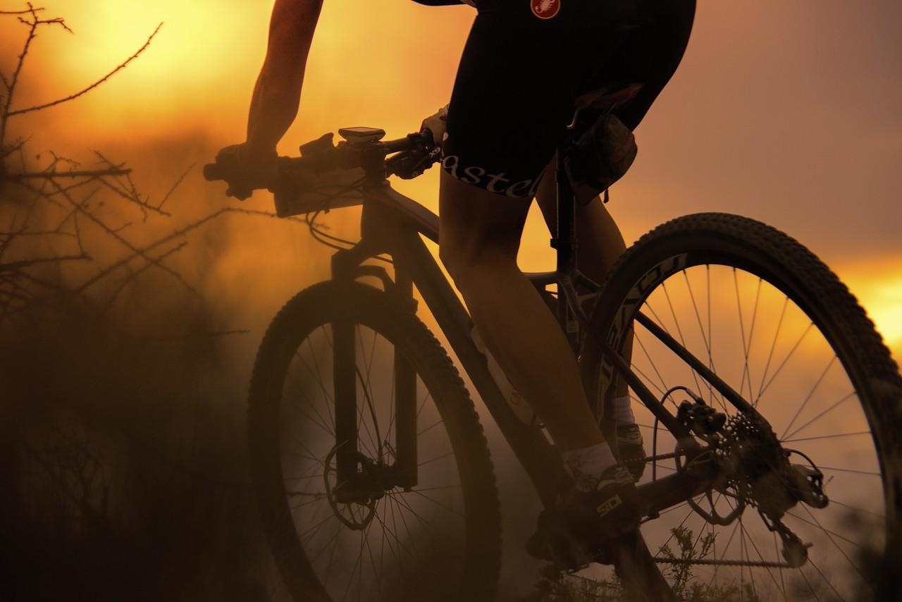 Photo #49 of 365 - Mountain bike at dusk