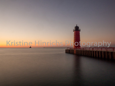 6.24.2016 Daybreak at the red lighthouse