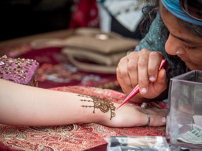 7.17.2016 A bit of henna