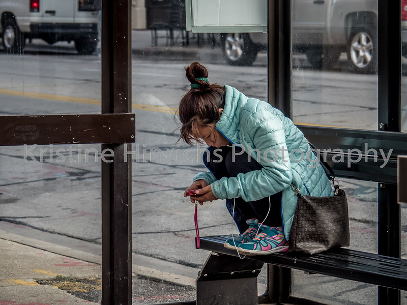 9.28.2016 Waiting for the bus