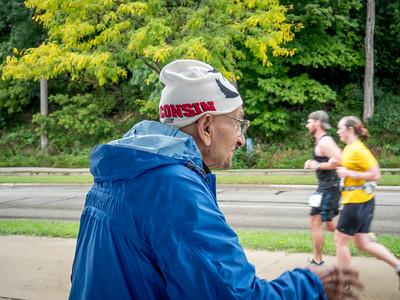 10.2.2016 My guy Paul cheering runners
