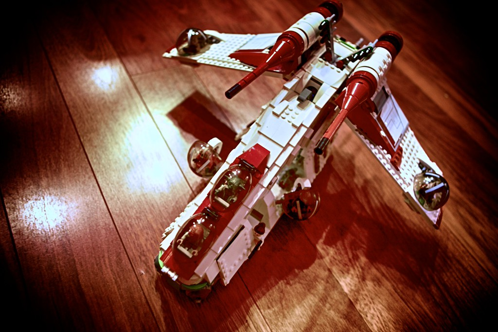 R's Lego Republic Gun Ship