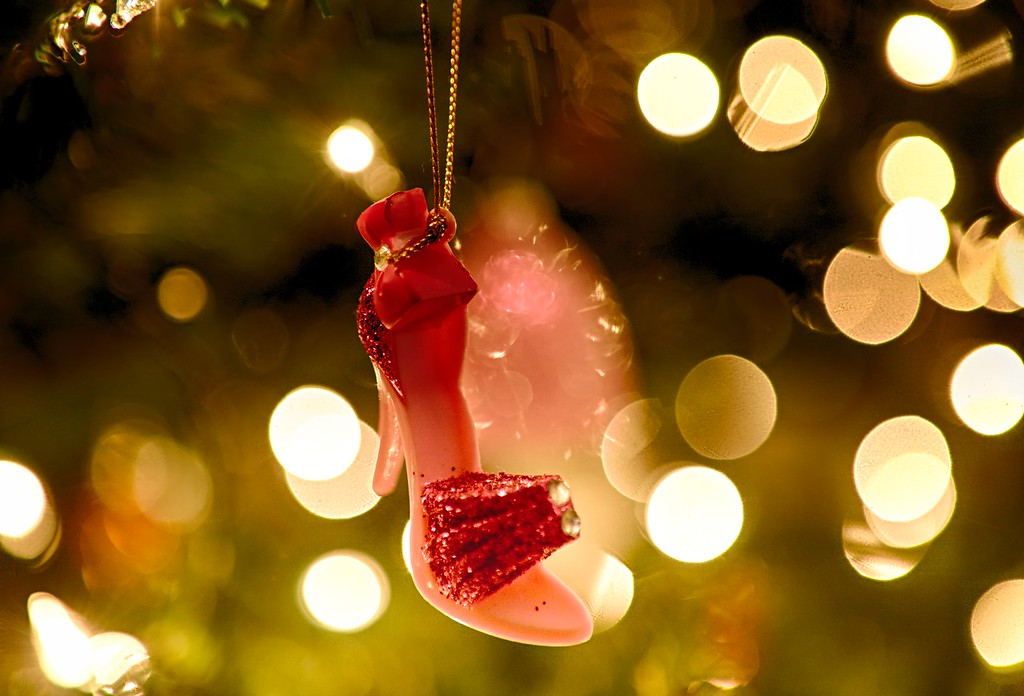 High Heel Shoe Ornament