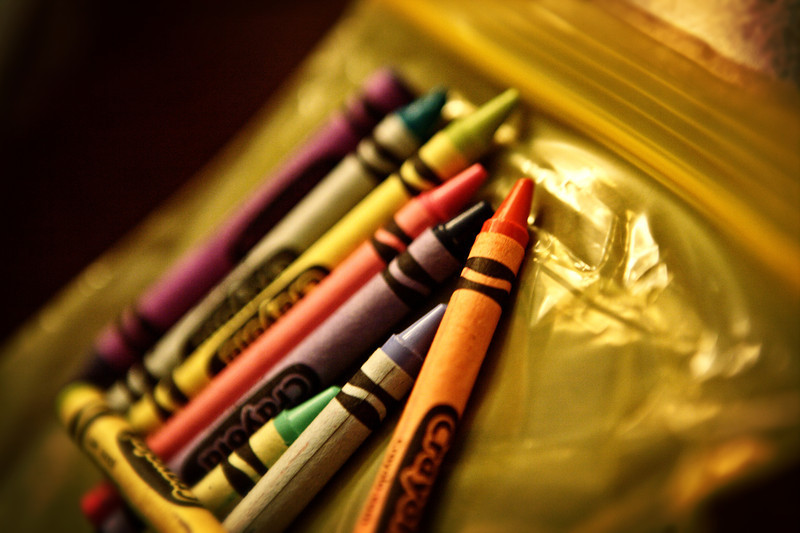 Figured it was time for the Crayons to make their appearance in this years project... <br /> <br /> Day 22/365<br /> 01-22-2013