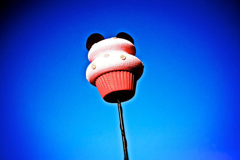 Found my wife's antenna topper in the evening light.... She's a Mickey fan and a cupcake fan! <br /> <br /> Day 148 of 365<br /> 05-28-2013