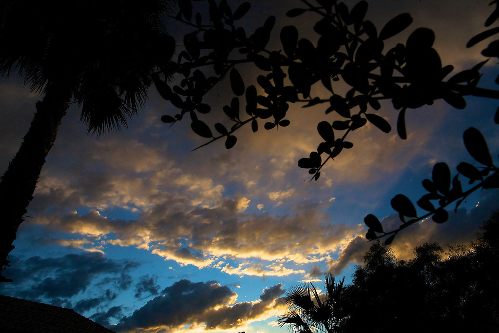 Sunset clouds! <br /> <br /> 12-17-2011