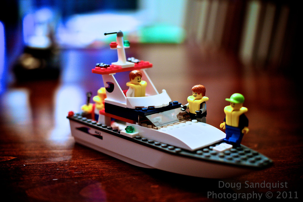 Reece got a Lego boat today.... and built it all by himself! This is a first! He was so excited and not sure if he could do it, but he did and he was so excited... So this is his creation.<br /> <br /> 07-19-2011