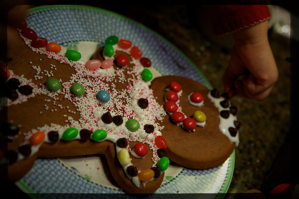The kids got to decorate their very own Ginger Bread Man... <br /> <br /> 12-20-2011