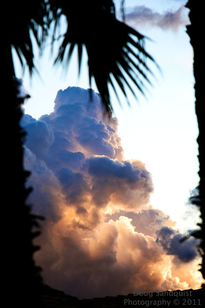 Had some interesting rain showers come through today which led to some interesting clouds at sunset... <br /> <br /> 10-06-2011