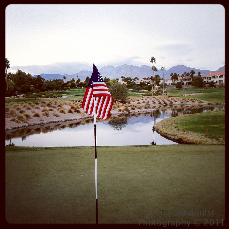 Played golf with a couple of Vets today... <br /> <br /> 11-11-2011
