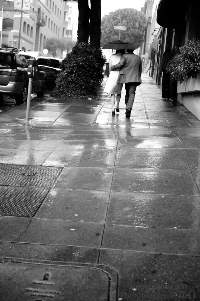 Street scene from SF... Got caught in an afternoon Rain Shower... <br /> <br /> 05-28-2011