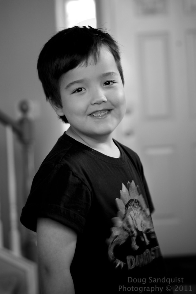 Caught a nice smile from Reece this afternoon... <br /> <br /> 06-05-2011